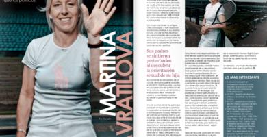 MagLes Revista Lesbianas Martina Navratilova