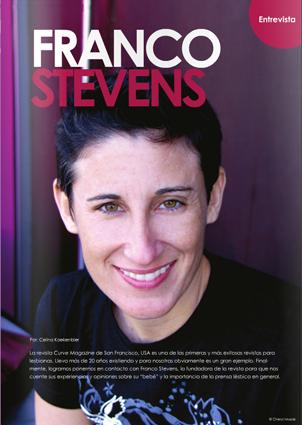 MagLes Revista Lesbianas Curve Franco Stevens