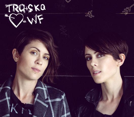 Wildfang Tegan y Sara MagLes Revista Lesbianas