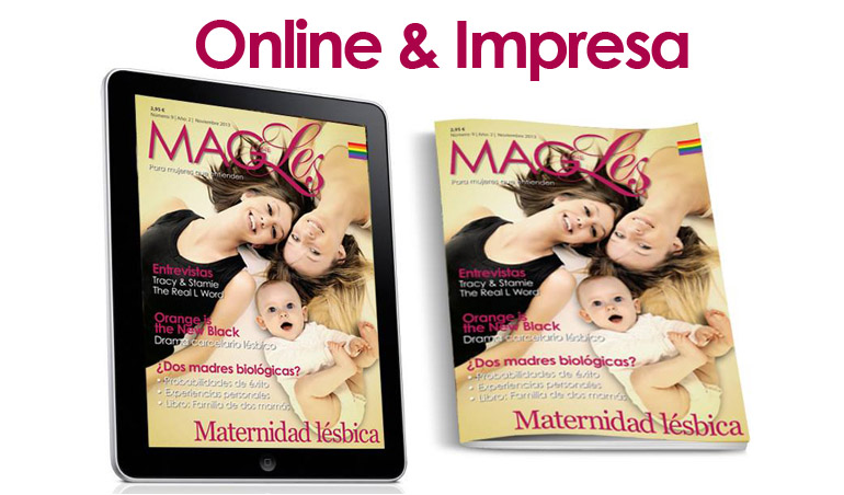 Revista para Lesbianas MagLes 9, Maternidad Lesbica