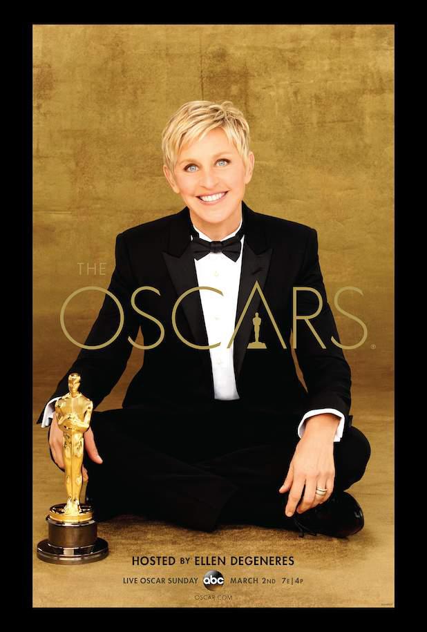 Ellen DeGeneres en los Oscars