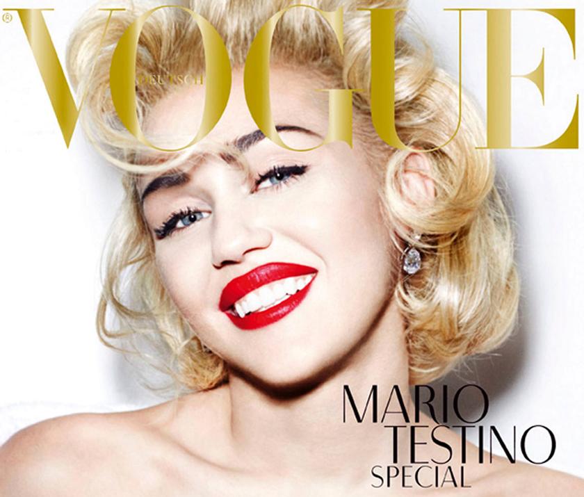 Miley Cyrus portada de Vogue