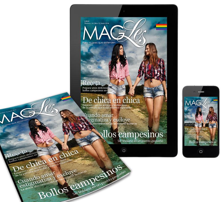 MagLes 14 | Bollos campesinos | MagLes revista para lesbianas