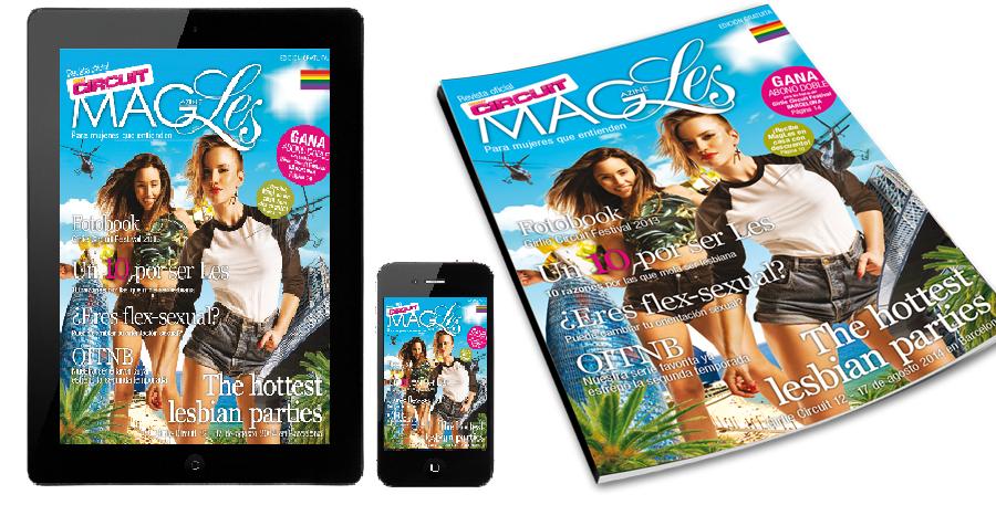 MagLes revista oficial Girlie Circuit Festival