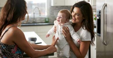 método ropa maternidad lesbica