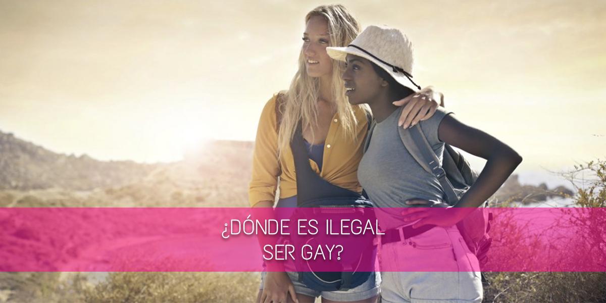 ¿Dónde es ilegal ser gay?