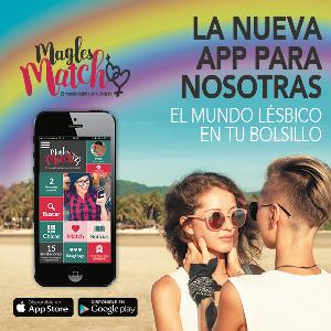 MagLes Match App de ligar para mujeres lesbianas