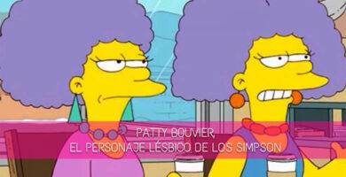 Patty Bouvier, el personaje lésbico de Los Simpson